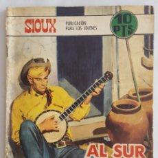 Tebeos: NOVELA OESTE / SIOUX / AL SUR DE RIO GRANDE / EDICIONES TORAY Nº 113 1968. Lote 156567414