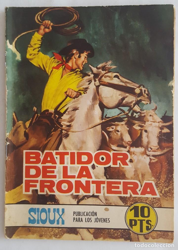 NOVELA OESTE / SIOUX / BATIDOR DE LA FRONTERA / EDICIONES TORAY Nº 139 1969 (Tebeos y Comics - Toray - Sioux)
