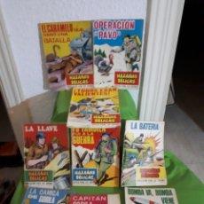 Tebeos: LOTE 18 NÚMEROS HAZAÑAS BELICAS GORILA TORAY. Lote 156657424