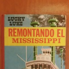 Tebeos: CÓMIC LUCKY LUKE, REMONTANDO EL MISSISSIPI, TORAY, 1968. Lote 156725101