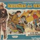 Tebeos: HAZAÑAS DEL OESTE, COMPLEMENTO SEMANAL 8, 1959, TORAY, BUEN ESTADO. Lote 157328094