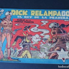 BDs: DICK RELAMPAGO Nº 20 ( ORIGINAL AÑO 1959 ) ED. TORAY / IRANZO / SIN USAR. Lote 157809782
