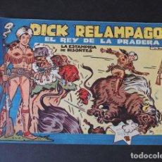 BDs: DICK RELAMPAGO Nº 24 ( ORIGINAL AÑO 1959 ) ED. TORAY / IRANZO / SIN USAR. Lote 157810166
