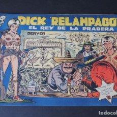 BDs: DICK RELAMPAGO Nº 25 ( ORIGINAL AÑO 1959 ) ED. TORAY / IRANZO / SIN USAR / DIFICIL. Lote 159131281