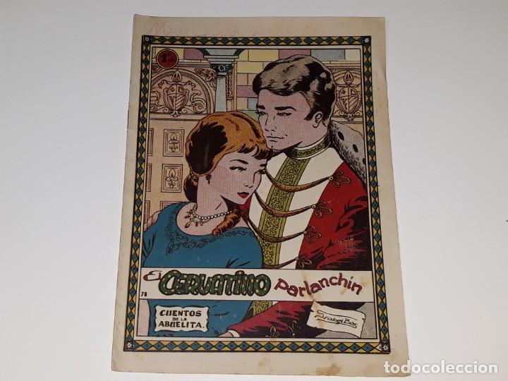 ANTIGUO COMIC CUENTOS DE LA ABUELITA Nº 78 - EL CERVATILLO PARLANCHIN - ED. TORAY AÑOS 50 (Tebeos y Comics - Toray - Cuentos de la Abuelita)