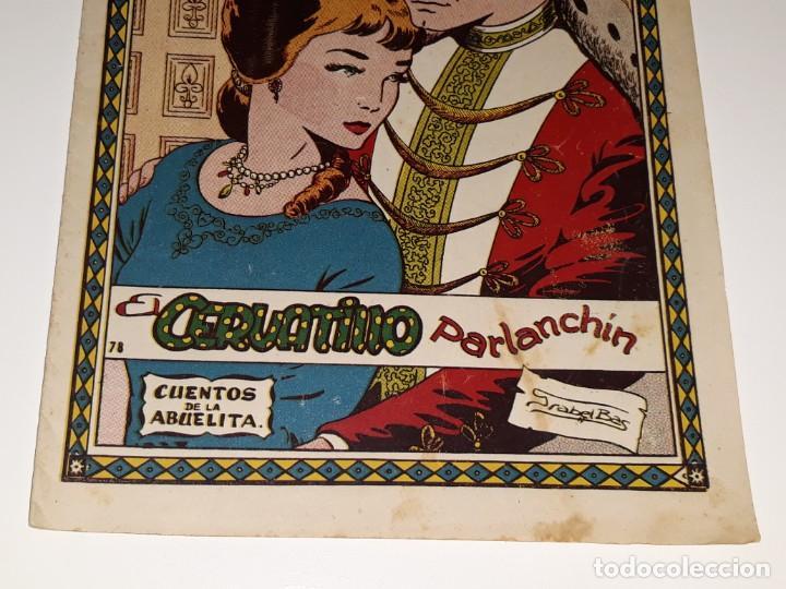 Tebeos: ANTIGUO COMIC CUENTOS DE LA ABUELITA Nº 78 - EL CERVATILLO PARLANCHIN - ED. TORAY AÑOS 50 - Foto 3 - 225110040
