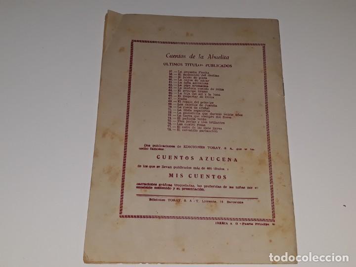 Tebeos: ANTIGUO COMIC CUENTOS DE LA ABUELITA Nº 78 - EL CERVATILLO PARLANCHIN - ED. TORAY AÑOS 50 - Foto 5 - 225110040