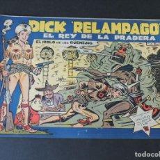 BDs: DICK RELAMPAGO Nº 27 ( ORIGINAL AÑO 1959 ) ED. TORAY / IRANZO / SIN USAR / DIFICIL. Lote 157811382