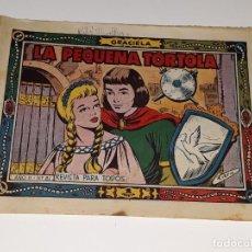 Tebeos: ANTIGUO COMIC COLECCION GRACIELA AÑO II Nº 81 - LA PEQUEÑA TORTOLA - ED. TORAY AÑOS 50. Lote 157814150