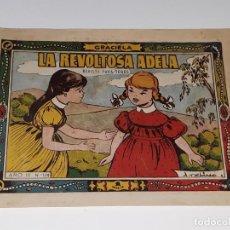 Tebeos: ANTIGUO COMIC COLECCION GRACIELA AÑO III Nº 119 - LA REVOLTOSA ADELA - ED. TORAY AÑOS 50. Lote 157815522