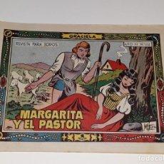 Tebeos: ANTIGUO COMIC COLECCION GRACIELA AÑO III Nº 112 - MARGARITA Y EL PASTOR - ED. TORAY AÑOS 50. Lote 157815818