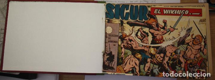 SIGUR EL VIKINGO - COMPLETA ENCUADERNADA (Tebeos y Comics - Toray - Otros)