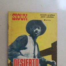 Tebeos: SIOUX. Nº 44. TORAY. DIBUJOS J. DUARTE.. Lote 158162626