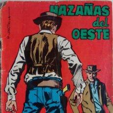 Tebeos: HAZAÑAS DEL OESTE Nº104 - EL SHERIFF INMORTAL. Lote 158216330