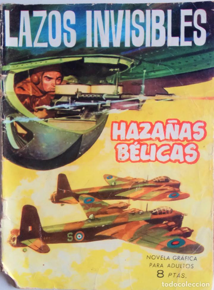 HAZAÑAS BELICAS Nº 89 - LAZOS INVISIBLES (Tebeos y Comics - Toray - Hazañas Bélicas)