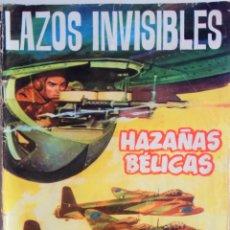 Tebeos: HAZAÑAS BELICAS Nº 89 - LAZOS INVISIBLES. Lote 158218486