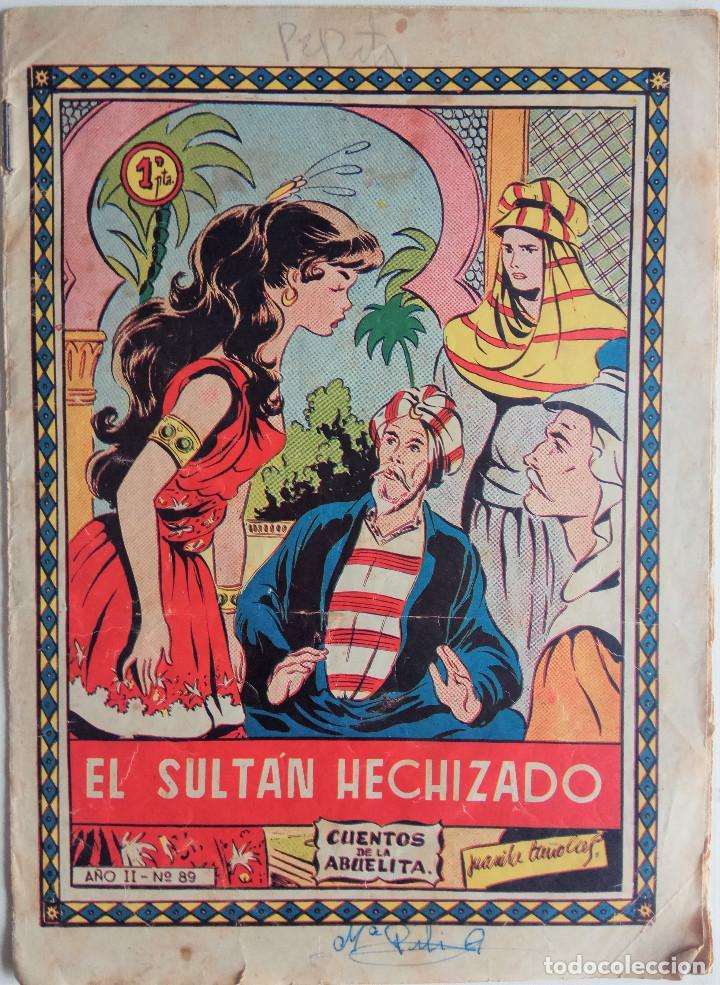 CUENTO DE LA ABUELITA Nº 89 - EL SULTÁN HECHIZADO (Tebeos y Comics - Toray - Cuentos de la Abuelita)