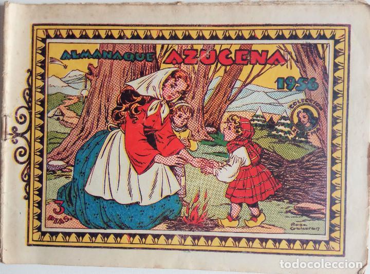 ALMANAQUE AZUCENA 1956 (Tebeos y Comics - Toray - Azucena)