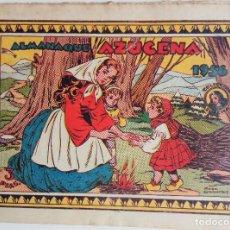 Tebeos: ALMANAQUE AZUCENA 1956 . Lote 158231918