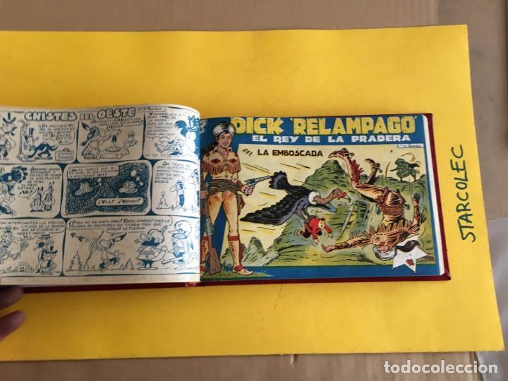 DICK RELAMPAGO. 1 TOMO CON 27 Nº. AÑO 1962. EDITORIAL TORAY (Tebeos y Comics - Toray - Dick Relampago)
