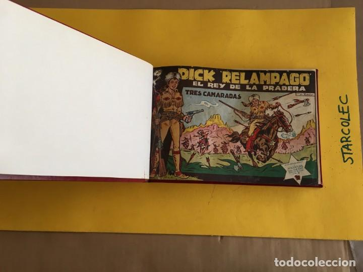 Tebeos: DICK RELAMPAGO. 1 TOMO con 27 Nº. AÑO 1962. EDITORIAL TORAY - Foto 4 - 158236650