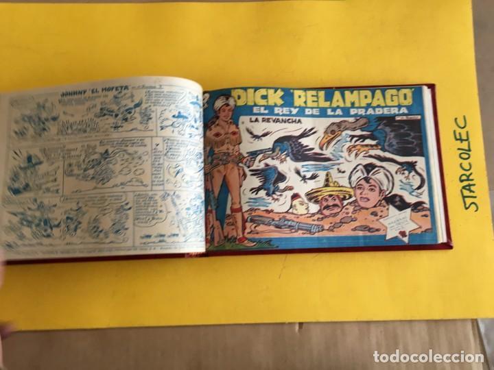 Tebeos: DICK RELAMPAGO. 1 TOMO con 27 Nº. AÑO 1962. EDITORIAL TORAY - Foto 6 - 158236650