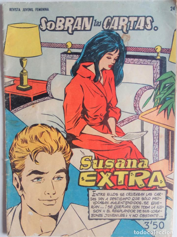 SUSANA EXTRA Nº 24 - SOBRAN LAS CARTAS (Tebeos y Comics - Toray - Susana)