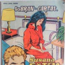 Tebeos: SUSANA EXTRA Nº 24 - SOBRAN LAS CARTAS. Lote 158286374