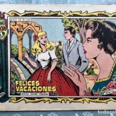 Tebeos: COLECCION ALICIA Nº 167. TORAY 1955. FELICES VACACIONES. Lote 158338034