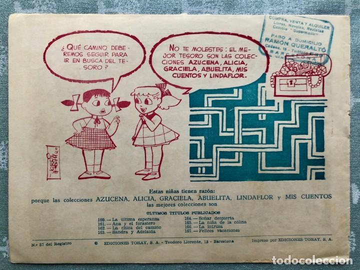 Tebeos: COLECCION ALICIA Nº 167. TORAY 1955. FELICES VACACIONES - Foto 2 - 158338034
