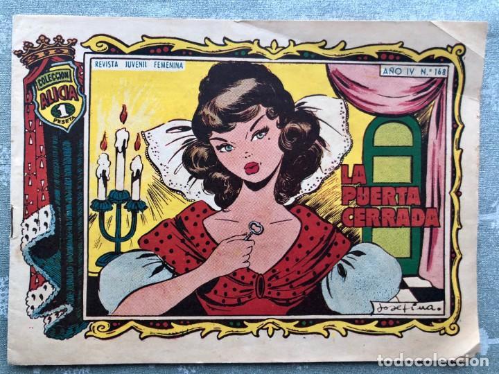 COLECCION ALICIA Nº 168. TORAY 1955. LA PUERTA CERRADA (Tebeos y Comics - Toray - Alicia)
