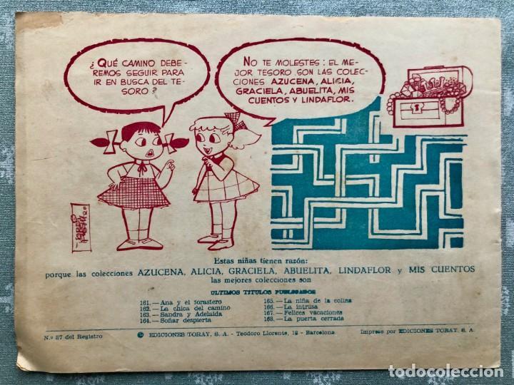 Tebeos: COLECCION ALICIA Nº 168. TORAY 1955. LA PUERTA CERRADA - Foto 2 - 158338082
