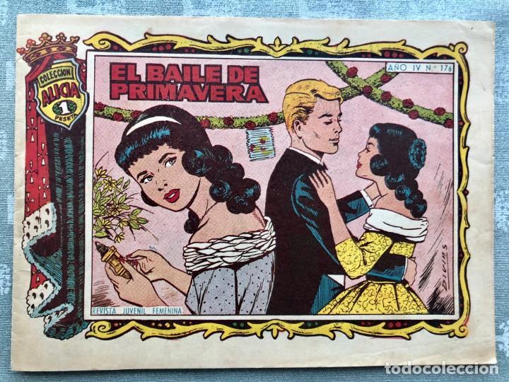 COLECCION ALICIA Nº 176. TORAY 1955. EL BAILE DE PRIMAVERA (Tebeos y Comics - Toray - Alicia)