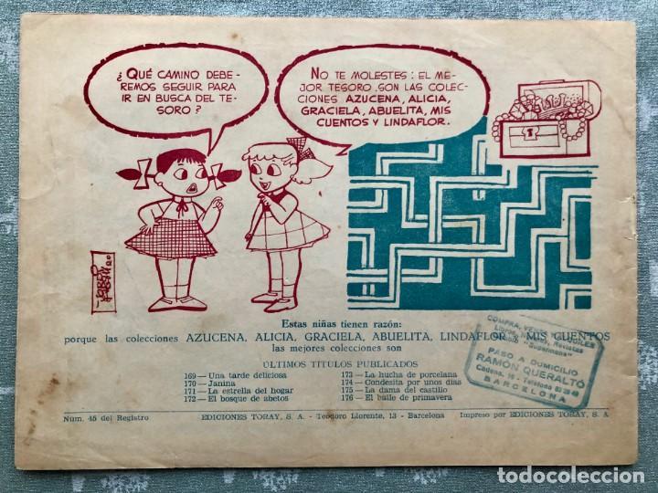 Tebeos: COLECCION ALICIA Nº 176. TORAY 1955. EL BAILE DE PRIMAVERA - Foto 2 - 158338110