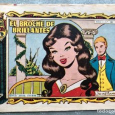 Tebeos: COLECCION ALICIA Nº 197. TORAY 1955. EL BROCHE DE BRILLANTES. Lote 158338274