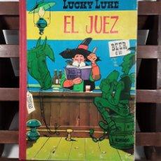Tebeos: LUCKY LUKE. EL JUEZ. EDIC. TORAY. BARCELONA. 1964. . Lote 158384434