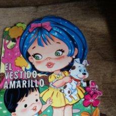 Tebeos: CUENTO TROQUELADO«EL VESTIDO AMARILLO». Lote 158690122