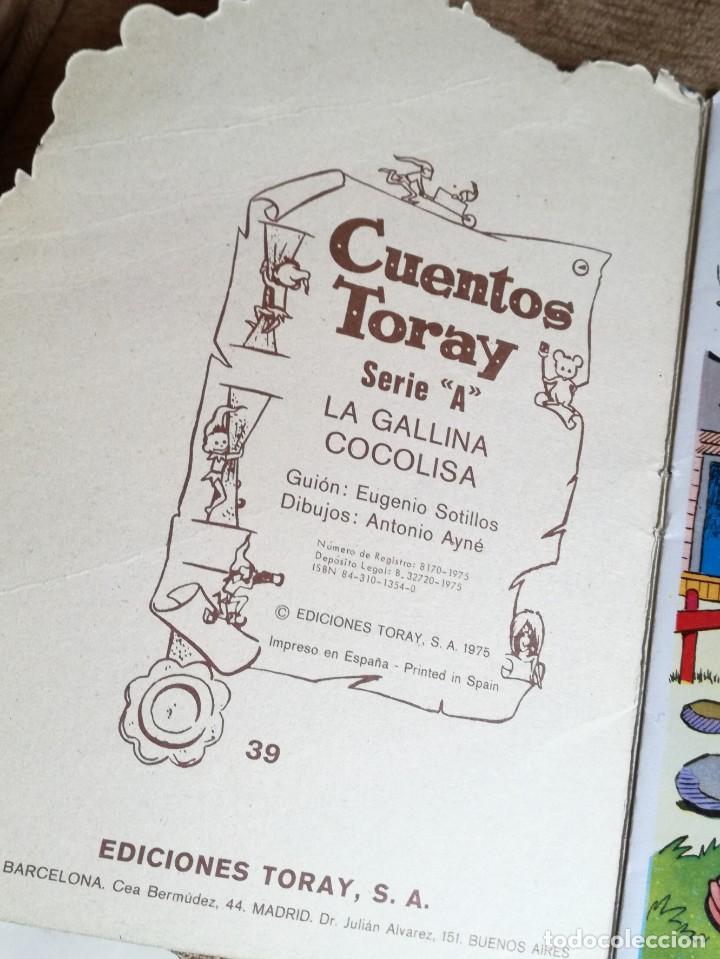 Tebeos: Cuento Troquelado «La gallina cocolisa» - Foto 2 - 158690446