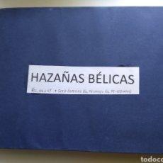 Tebeos: TEBEOS ANTIGUOS AZAÑAS BÉLICAS. Lote 159034560