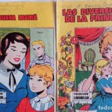 Tebeos: COLECCIÓN LINDA FLOR Nº127 Y Nº 139 - LAS DIVERSIONES DE LA PRINCESA Y LA NUEVA MAMA. Lote 159055018