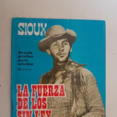 Tebeos: SIOUX. Nº 34. TORAY.. Lote 159140710
