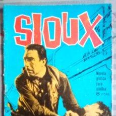Tebeos: SIOUX- Nº 24 - LA LEY EN SUS MANOS- 1965-GRAN JOSÉ DUARTE-BUENO-MUY DIFÍCIL-LEAN-2644. Lote 189507830