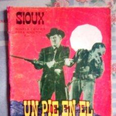 Tebeos: SIOUX- Nº 52 - UN PIE EN EL INFIERNO- 1966-GRAN JOSÉ DUARTE-CORRECTO-MUY DIFÍCIL-LEAN-0750. Lote 159284518