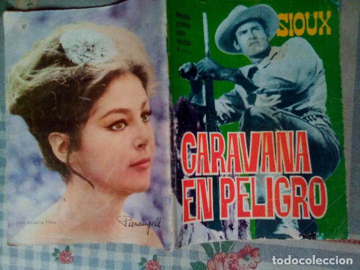 Tebeos: SIOUX - Nº 57 -CARAVANA EN PELIGRO - 1966- GRAN ANTONIO PÉREZ- BUENO- MUY DIFÍCIL-EAN-0751 - Foto 2 - 159285586