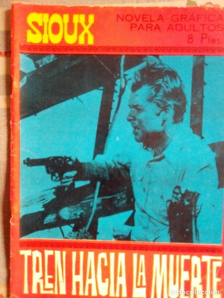SIOUX - Nº 73 -TREN HACIA LA MUERTE - 1967- GRAN JOSÉ DUARTE- MUY BUENO- MUY DIFÍCIL-EAN-0753 (Tebeos y Comics - Toray - Sioux)