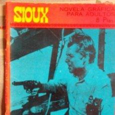 Tebeos: SIOUX - Nº 73 -TREN HACIA LA MUERTE - 1967- GRAN JOSÉ DUARTE- MUY BUENO- MUY DIFÍCIL-EAN-0753. Lote 159287750