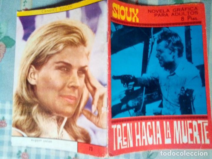 Tebeos: SIOUX - Nº 73 -TREN HACIA LA MUERTE - 1967- GRAN JOSÉ DUARTE- MUY BUENO- MUY DIFÍCIL-EAN-0753 - Foto 2 - 159287750