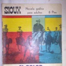Tebeos: SIOUX - Nº 84 - EL COLOR DE LA VIOLENCIA- 1967- GRAN RAFAEL LÓPEZ ESPÍ- BUENO- MUY DIFÍCIL-LEAN-0756. Lote 159300150