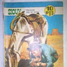 Tebeos: SIOUX - Nº 111 - METAL AMARILLO- 1968- GRAN JOSÉ DUARTE- BUENO- MUY DIFÍCIL-LEAN-0757. Lote 159301190