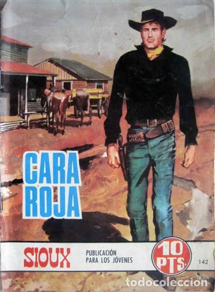 Tebeos: SIOUX - Nº 142 - CARA ROJA- 1969- GRAN RAFAEL LÓPEZ ESPÍ- BUENO- MUY DIFÍCIL-LEAN-0758 - Foto 5 - 159301930